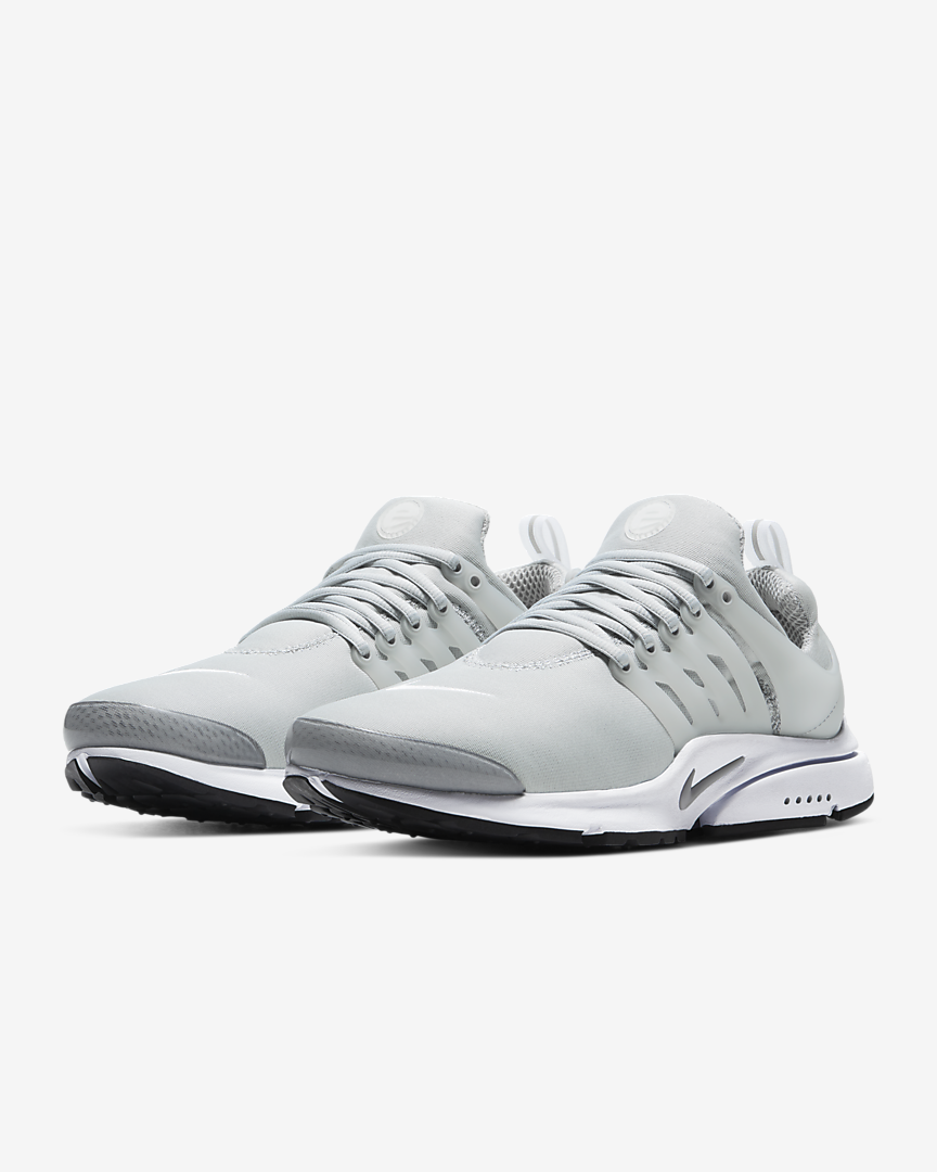 Nike Air Presto Light Smoke Grey/White/Black/Light Smoke Grey