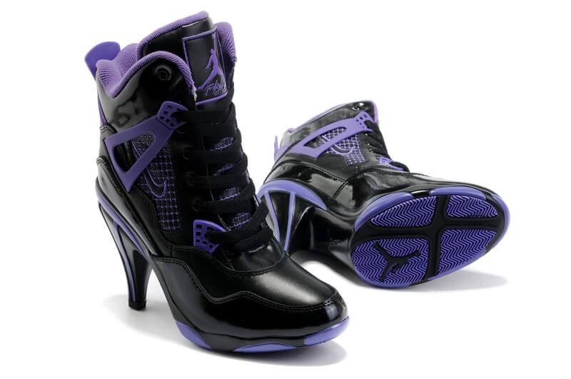 Nike Jordan 4 High Heels