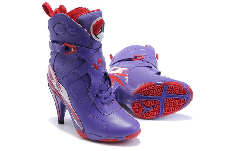 Nike Jordan 8 Heels