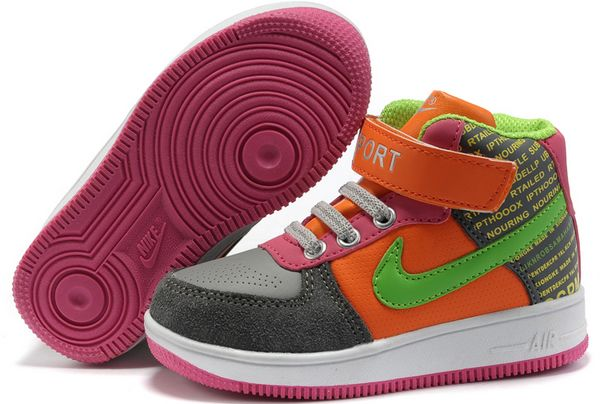 Nike Air Force high tops for kids