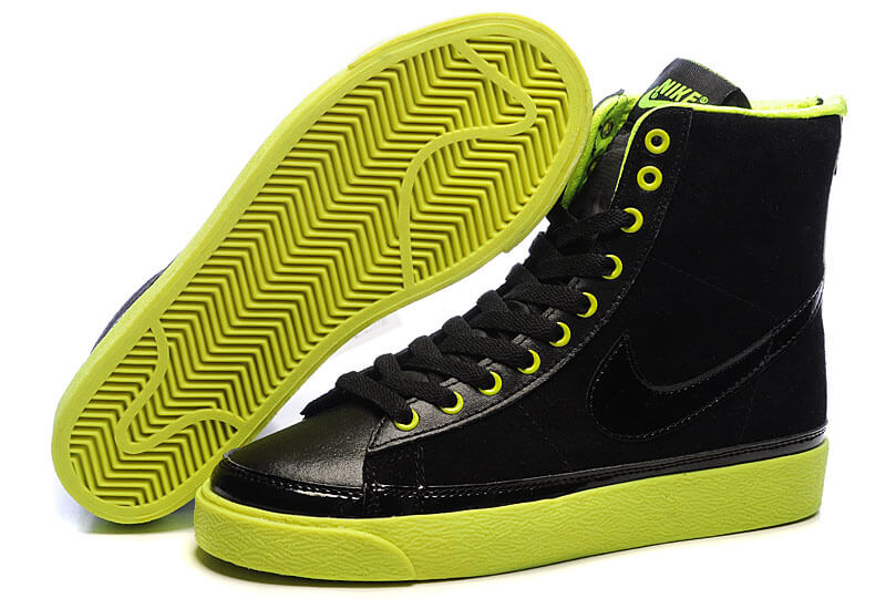 Nike Blazer Aqua High Top Shoes