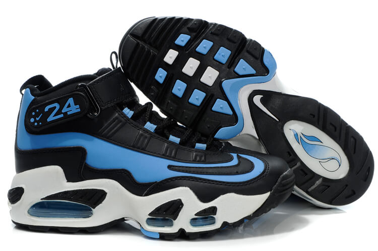blue nike air griffey max shoes
