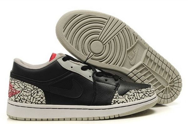 Air Jordan 1 Phat Low Shoes in Cool Grey
