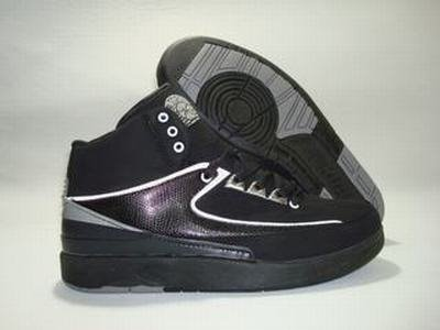 Air Jordan 2 Retro Black/Chrome