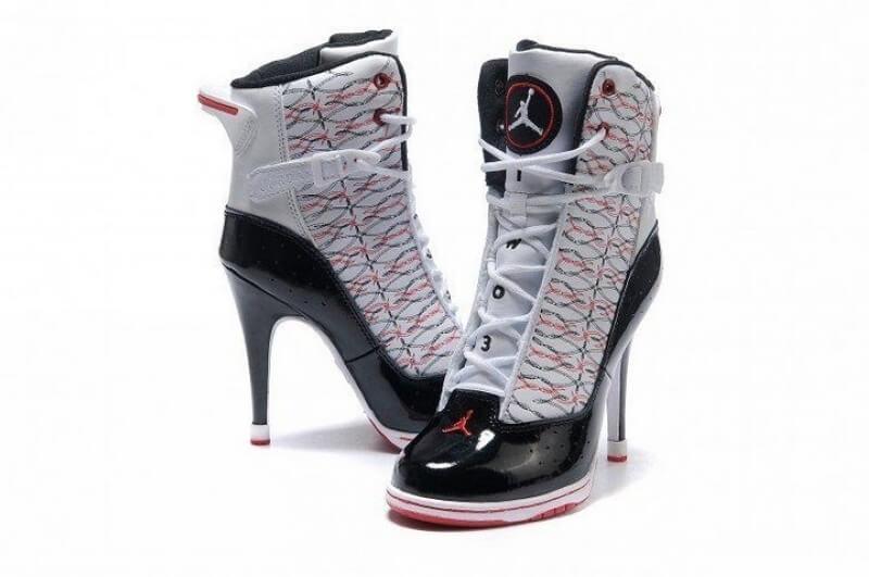 Jordan High Heels 6 Rings