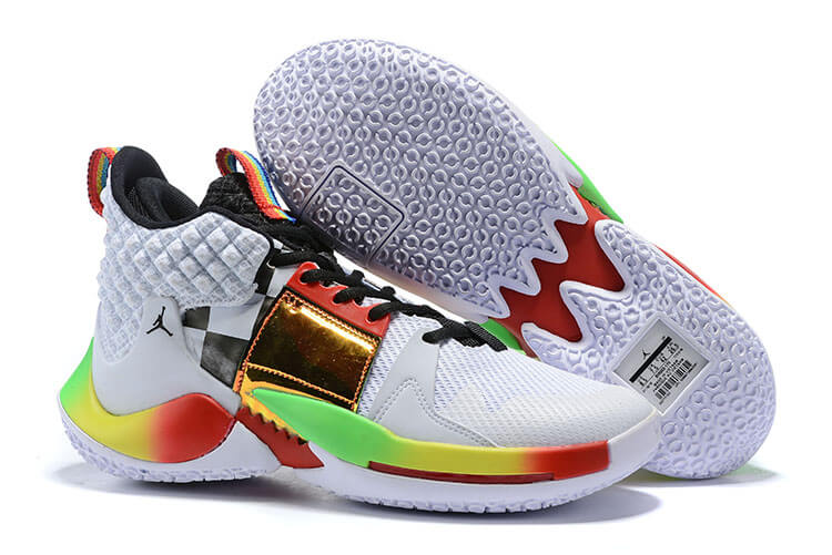 "Jordan ""Why Not?"" Zer0.2 Rainbow"