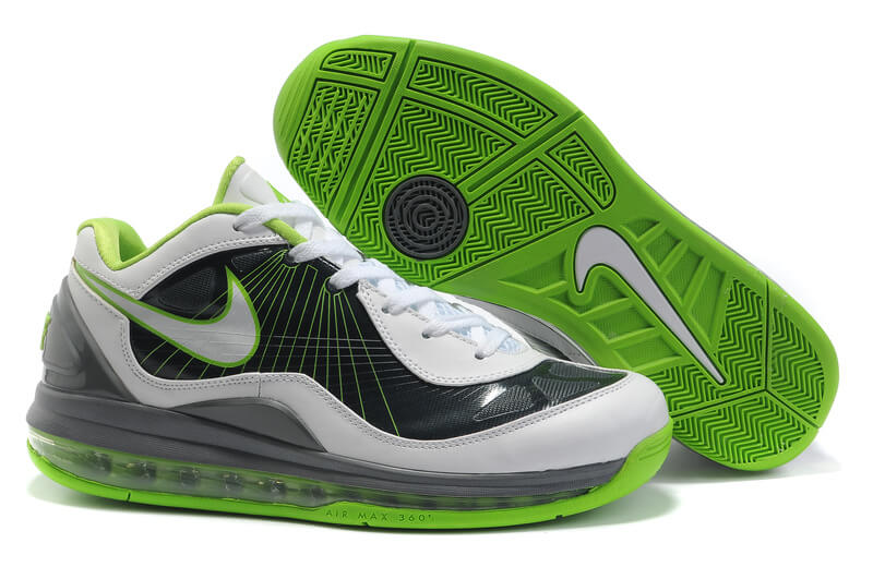 nike air max 360 bb low men's basketball shoe