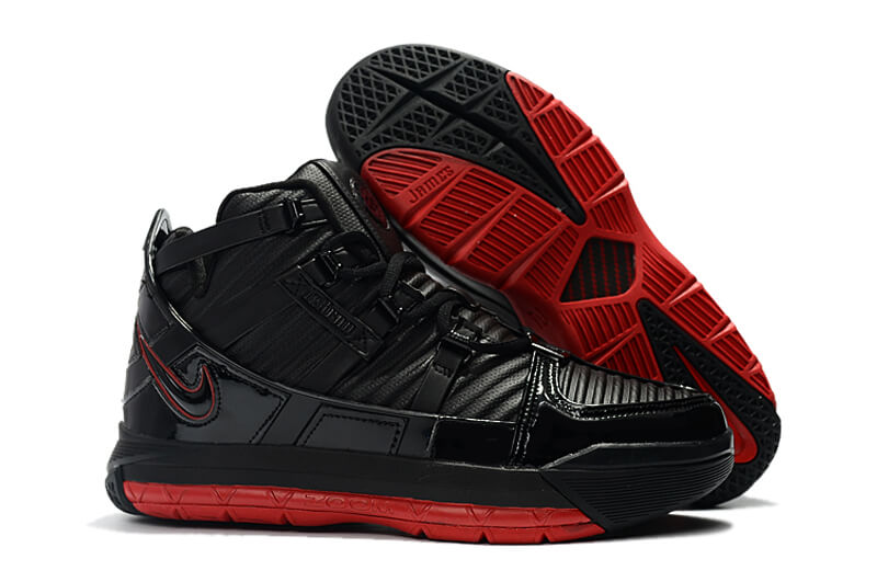 Nike LeBron 3 Black/Red On Sale
